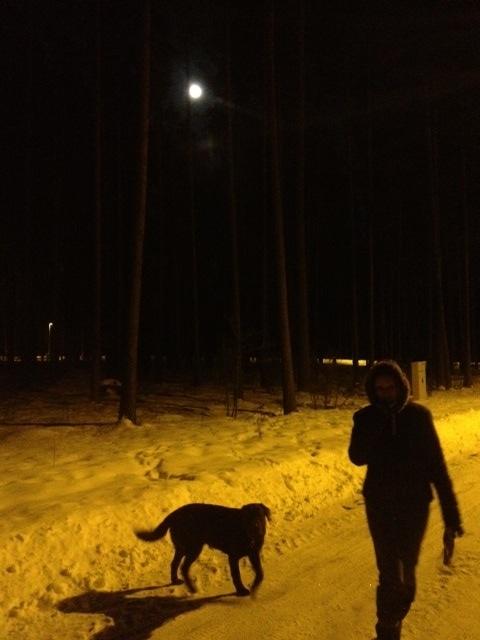 Scary full moon
